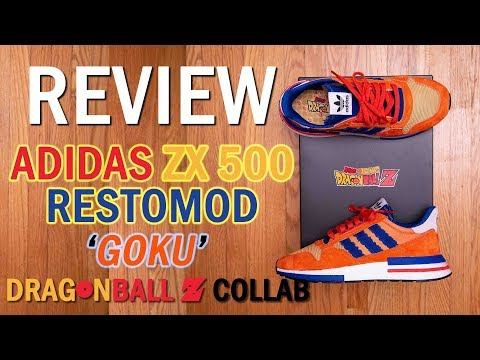 His Power Level Is Over 9000! || Adidas X Dragonball Z Zx 500 Rm (restomod) 'goku' Review