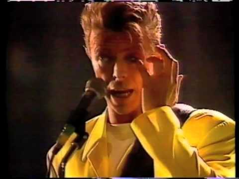Bowie in the 90's.