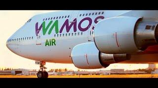 Video STUNNING CLOSE-UP   Wamos Air Boeing 747-400 at Helsinki Airport   EC-KSM for Pullmantur Cruises MP3, 3GP, MP4, WEBM, AVI, FLV Agustus 2018