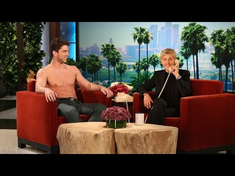 gardener - Ellen decided to hook her gardener up with a big Hollywood meeting!