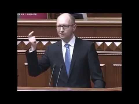 Яценюк заявил что газ воруют русские
