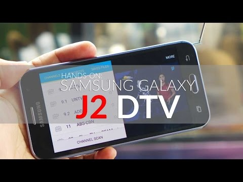 Hands-on: Samsung Galaxy J2 DTV Philippines