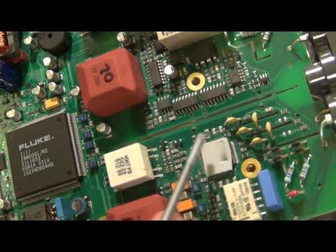 TSP #18 - Teardown and Repair of a Fluke 196B Handheld ScopeMeter