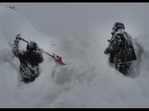 Канада. 120 см. снега за сутки
