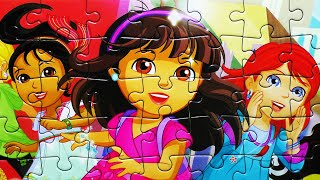 Video Dora the Explorer Puzzle Games Rompecabezas Nickelodeon Play Kids Learning Toys MP3, 3GP, MP4, WEBM, AVI, FLV Oktober 2017