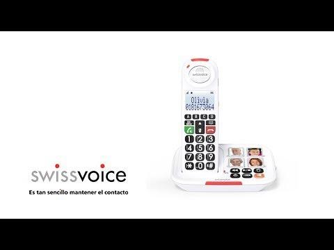 Telefono Inalambrico Base Fototeclas - Swissvoice Xtra 2155