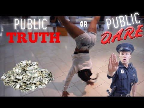 EXTREME PUBLIC DARES ... #TRUTHORDARE #daresinpublic