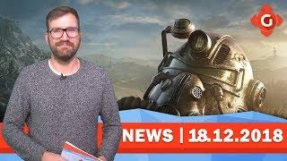 Fallout 76: Lootboxen könnten kommen! Battlefield V: Time To Kill zurückgenommen | GW-NEWS