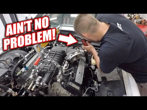Burnout Patrol EP.3 - Cutting Out Room For FREEDOM.. GT500's Transmission Hardly Fits!
