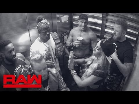 R-Truth gets trapped in an elevator with 24/7 Title challengers: Raw, June 10, 2019