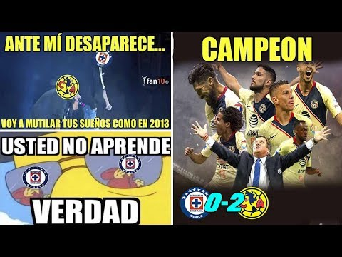 Memes Cruz Azul vs America 0-2 America Campeón Apertura 2018