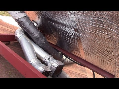 New Insulation For The Solar Heating Panels