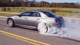 6.4 LITER HEMI 2012 CHRYSLER 300c SRT8  TEST DRIVE And REVIEW