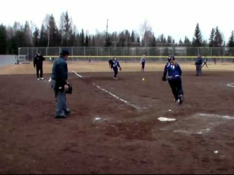 Kelsey Gierke high school Fast pitch softball 2011
