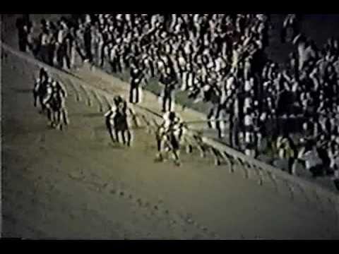 preakness stakes - Secretariat runs past the field with a thundering move and never tires. Truly amazing. Enjoy.