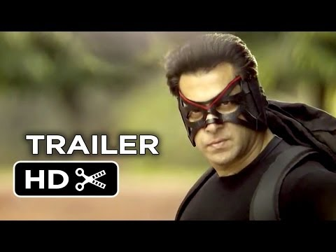 Kick Official Trailer 1 (2014) - Indian Action Comedy HD (видео)