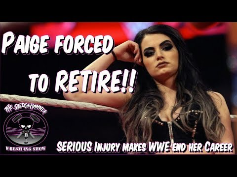 WWE Superstar Paige FORCED to RETIRE ! WWE Doctors will not clear Paige to Wrestle