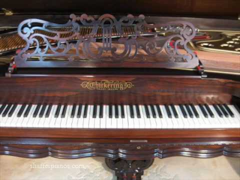 chickering piano - shafferpianos.com. 1885 Chickering Square Grand Piano, restored by Shaffer Pianos. Visit our website for more information on purchasing a restored antique pi...