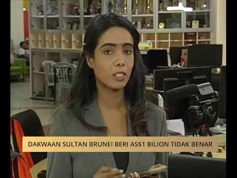 Dakwaan Sultan Brunei beri AS$1 bilion tidak benar