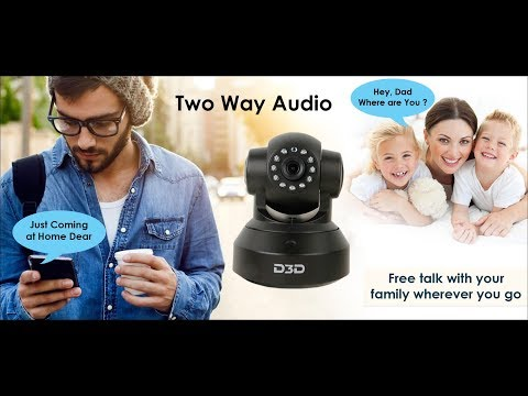 How to use Two way audio communication feature in D3D wireless IP camera