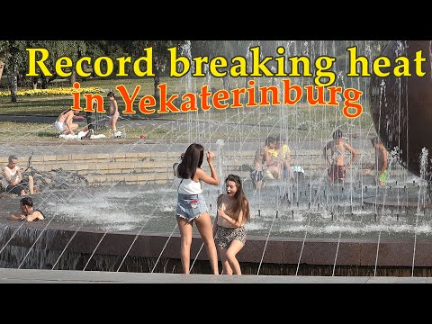 Record heat in Yekaterinburg. Global warming is real?
