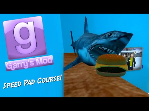 Garry's Mod Sandbox Fun - Epic Speed Pad Course (видео)