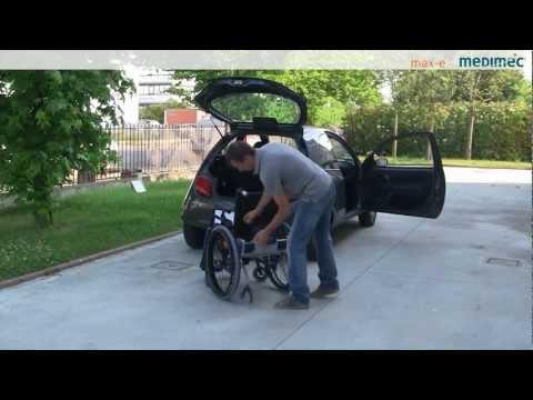 Medimec max-e il sistema di trasformazione della carrozzina manuale in elettrica