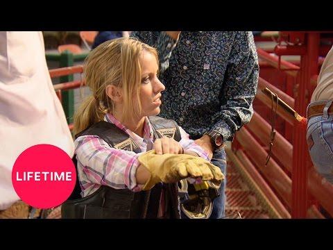 Little Women: Dallas - Amanda Rides A Bull (Season 1, Episode 1) | Lifetime