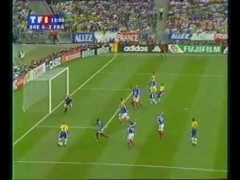 final coupe du monde 1998 France/Brésil