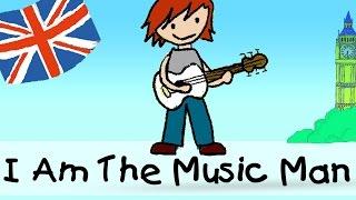 Video I Am The Music Man - englische Kindergarten Lieder || Kinderlieder MP3, 3GP, MP4, WEBM, AVI, FLV Agustus 2018