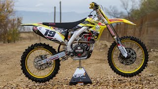 6. Racer X Films: 2017 RM-Z450 Garage Build