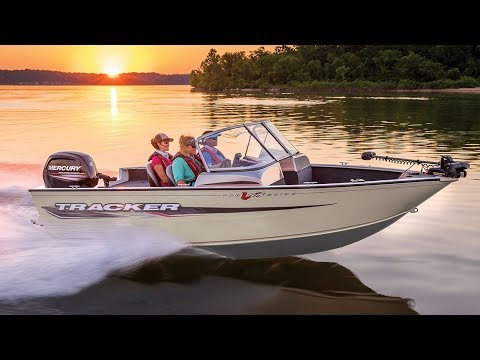 TRACKER Boats: 2018 Pro Guide 165 WT Deep V Fishing Boat