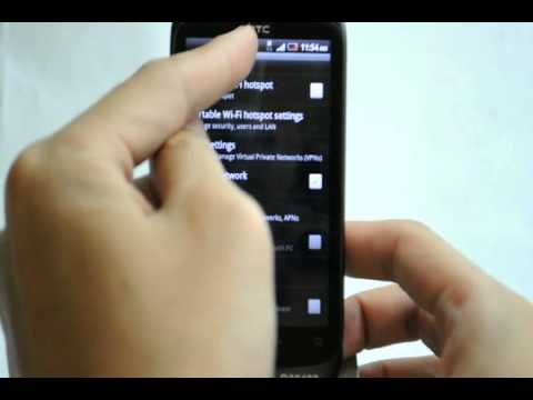 how to turn data on htc desire c