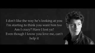 Nick Jonas ft. Tinashe - Jealous (Remix) Lyrics HD