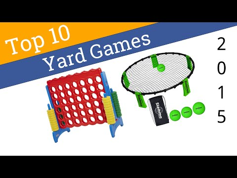 10 Best Yard Games 2015