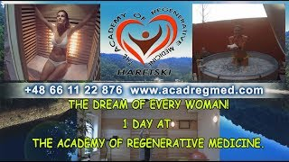 The Dream Of Every Woman! 1 Day At the Academy of Regenerative Medicine