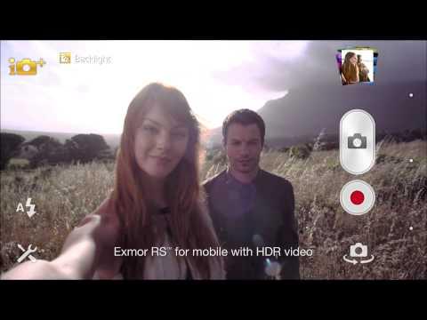 Xperia™ Z Camera video