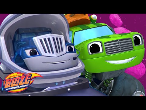 Crusher & Pickle's FUNNIEST Moments! | Blaze and the Monster Machines