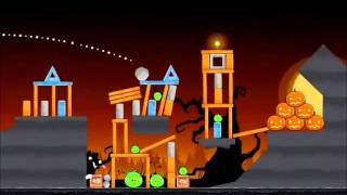 Angry Birds Seasons Walkthrough Trick or Treat 1-9