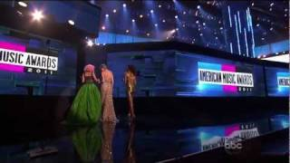 Nicki Minaj wins best hip hop album AMA Full Video [Good Quality][2011]