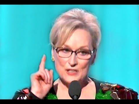 Meryl Streep Speech  Golden Globes 2017 speech called out Donald Trump at the Golden Globes (видео)