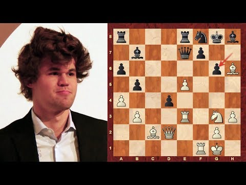 Magnus Carlsen Top Chess Sacrifices in 2005 – The Mozart of Chess!