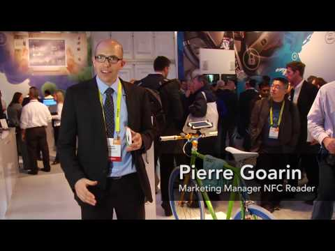 Device-to-device communication with NFC, smart bike example