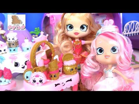 Видео для Детей Кукла Tiara Sparkles НАРЯЖАЕТ НЕВЕСТУ Шопкинс на Русском