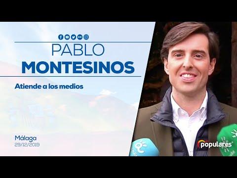 """Montesinos: """"Vamos a recurrir ante el Tribunal Constitucional la congelación de las pensiones"""""""