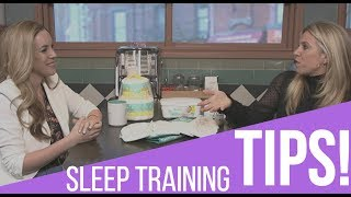Easy Tips To Get Your Children Sleeping Through The NightThis video is sponsored by Pampers. Are you a mom who still can't get her baby to sleep at night? Here's a few easy tips from two moms who collectively have eight kids between them! You'd be surprised what these small tweaks will do. Every bit counts when it comes to sleep training.