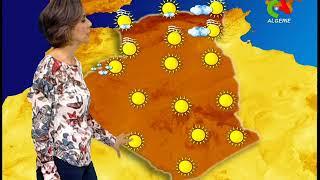 Retrouvez la météo du mercredi 01 janvier 2019 sur Canal Algérie