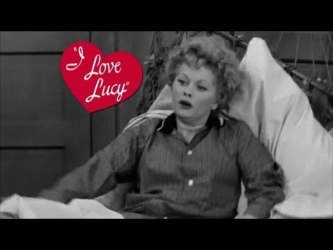 "Lucille Ball in a CLASSIC ""I Love Lucy"" MOMENT"