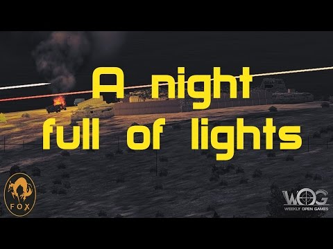 Arma 2 WOG A night full of lights