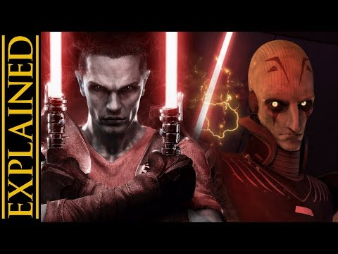 Six Concepts from The Force Unleashed That Were Almost Canon (видео)